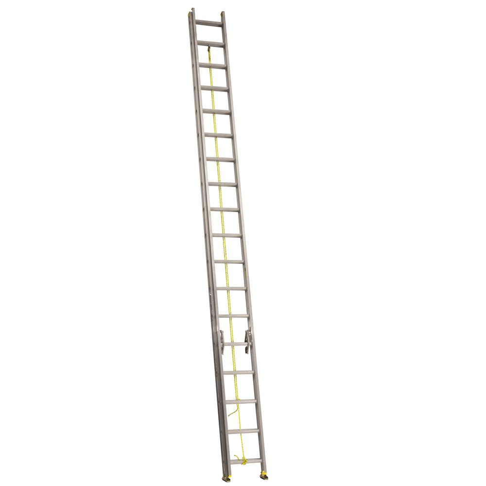 Louisville Ladder 36 Ft Aluminum Extension Ladder With