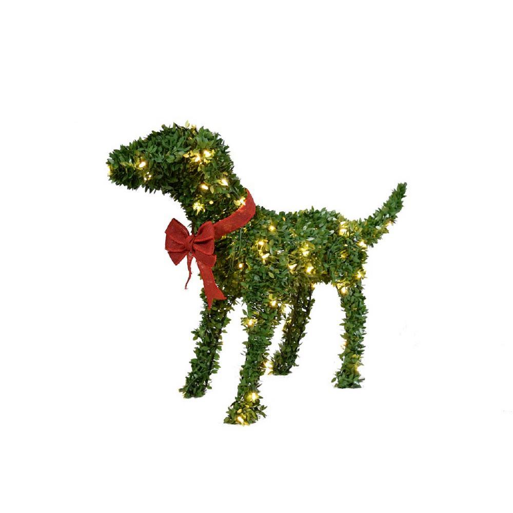 28 in. Topiary Labrador Dog