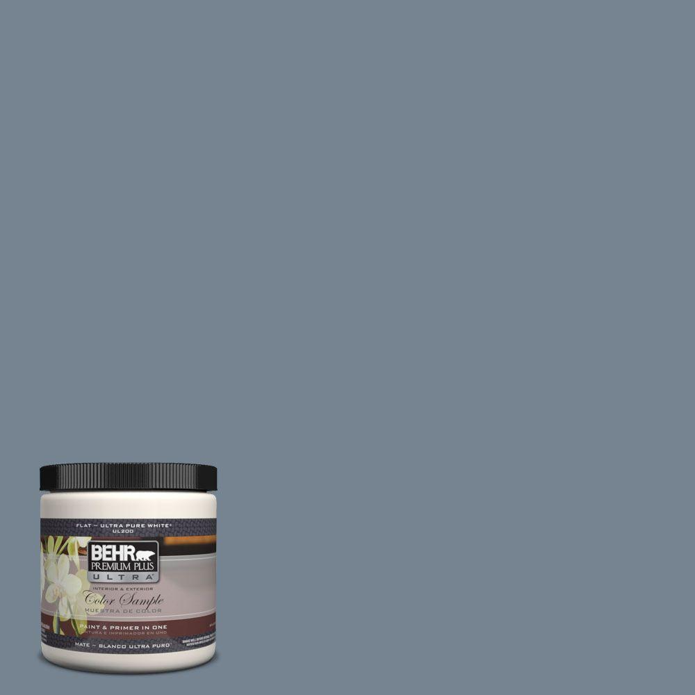 Ul230 5 Forever Denim Matte Interior Exterior Paint And Primer In One Sample