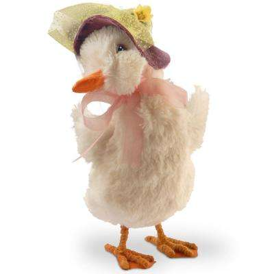 11.6 in. Duck with Easter Bonnet