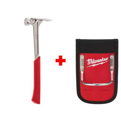 17 oz. Smooth Face Framing Hammer with Hammer Loop