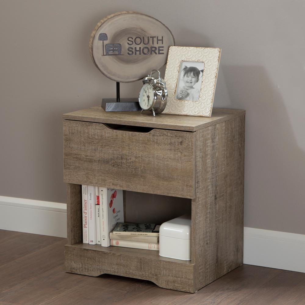 Weathered Oak Bedroom Furniture Furniture The Home Depot - Weathered oak bedroom furniture