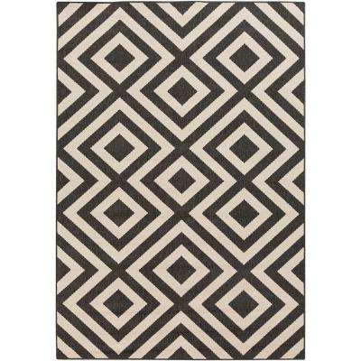 6 X 9 - Black - Outdoor Rugs - Rugs - The Home Depot