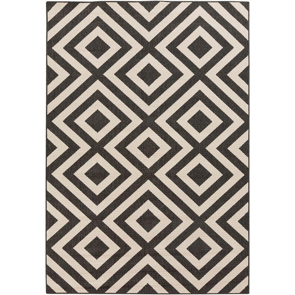 Breckenridge Beige 8 ft. x 11 ft. Indoor/Outdoor Area Rug