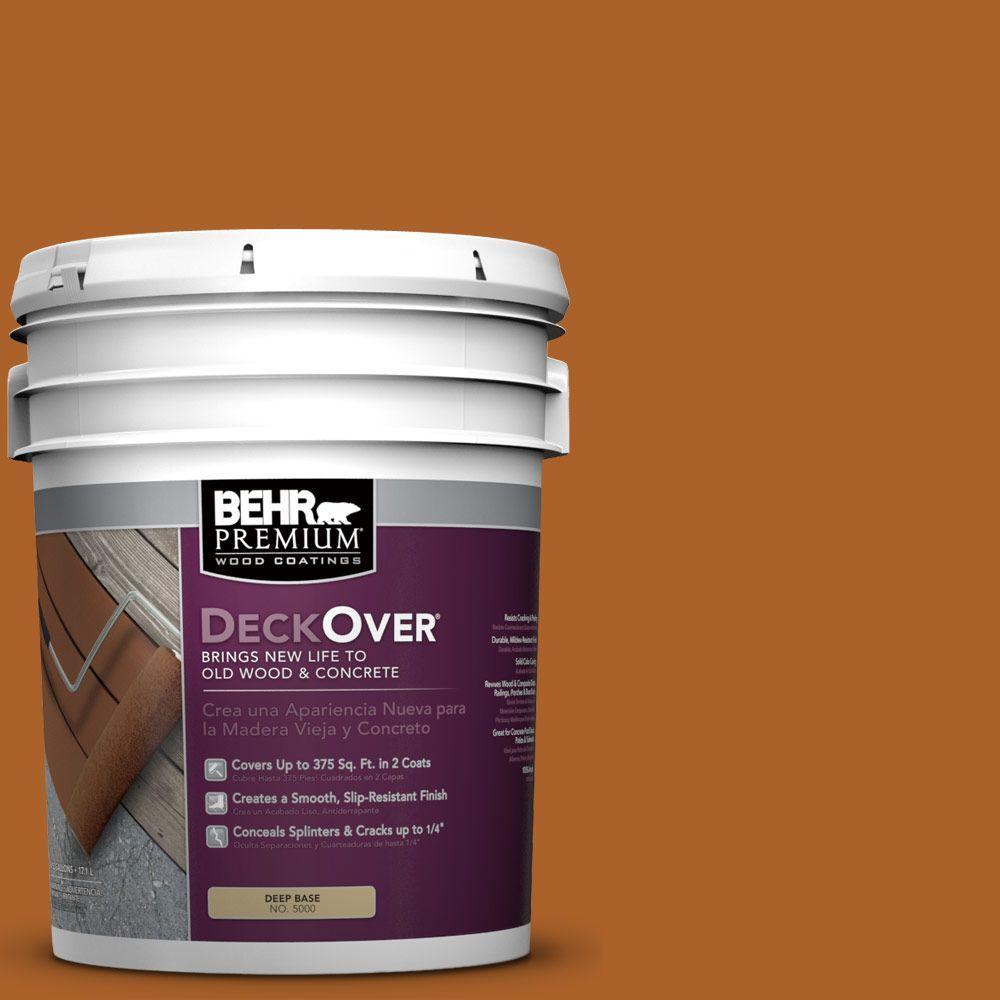 5 gal. #SC-533 Cedar Naturaltone Solid Color Exterior Wood and Concrete Coating