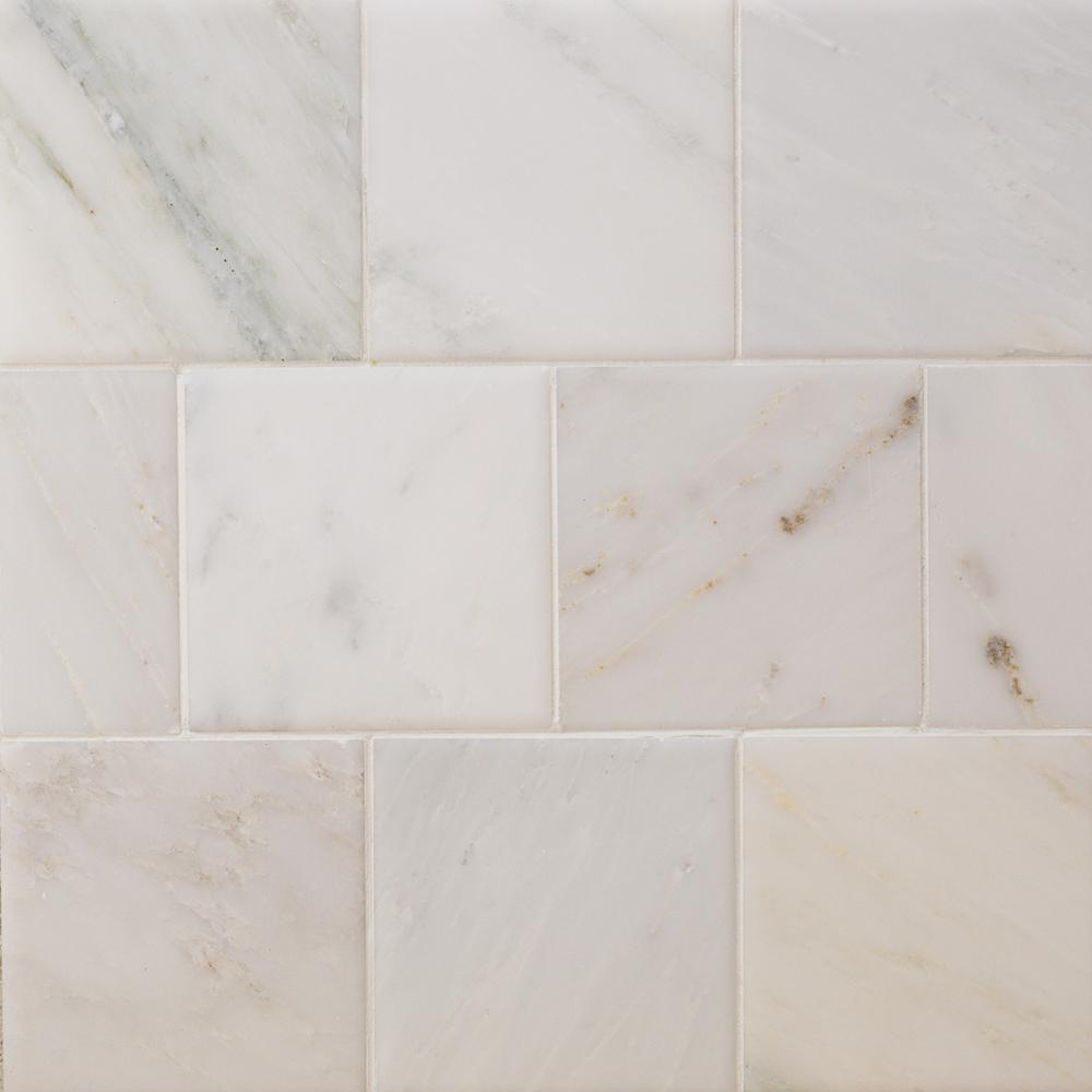 4x4 natural stone tile tile the home depot brushed dailygadgetfo Image collections