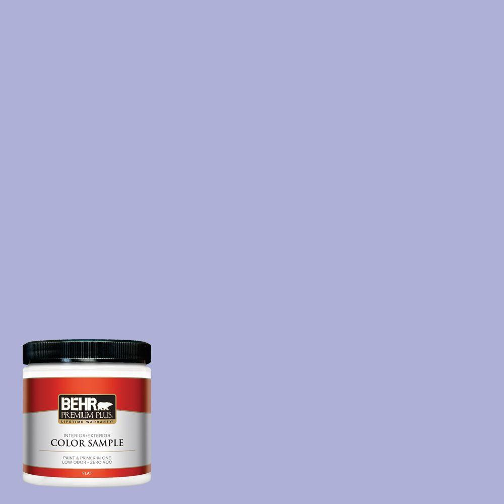 8 oz. #620B-4 Pixie Violet Interior/Exterior Paint Sample