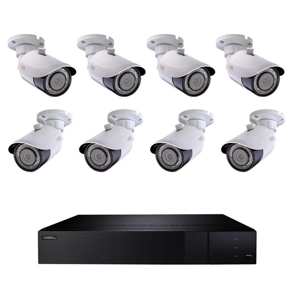 a place to call home complete series 4 camera advance pro series cctv installation cctv Q-SEE 16 Channel 4K 4TB H.265 NVR Video Surveillance System with (