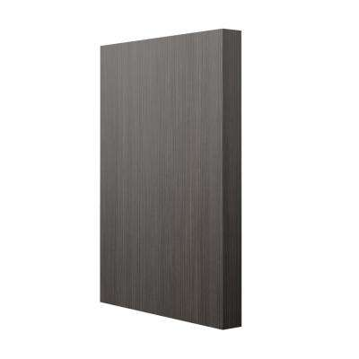 3x34.5x24.5 in. Base Column End Panel in Thunder