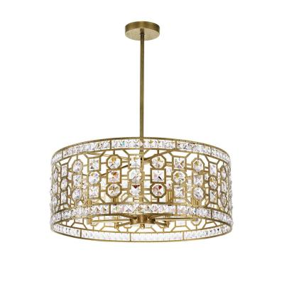 Belinda 6-Light Champagne Chandelier