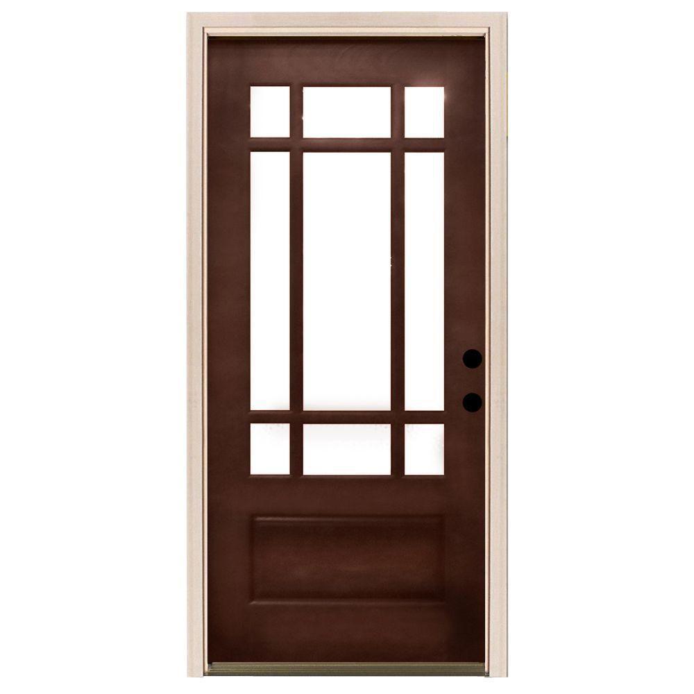 craftsman front doorCraftsman  Wood Doors  Front Doors  The Home Depot