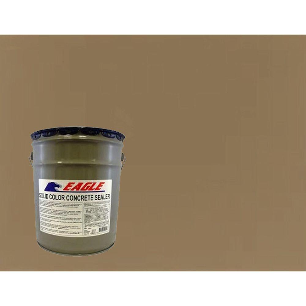 Eagle 5 gal. Sandstone Solid Color Solvent Based Concrete Sealer