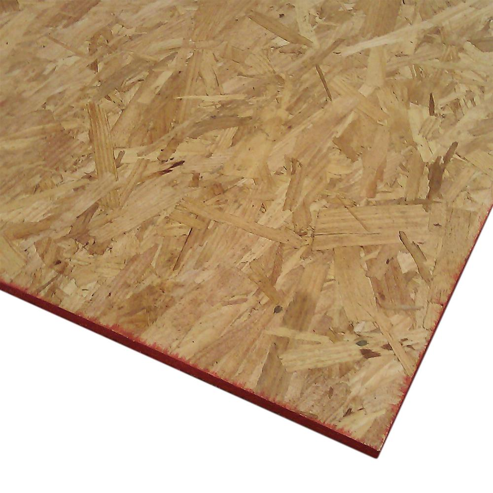 Exterior Plywood Home Depot: Oriented Strand Board (Common: 7/16 In. X 2 Ft. X 4 Ft