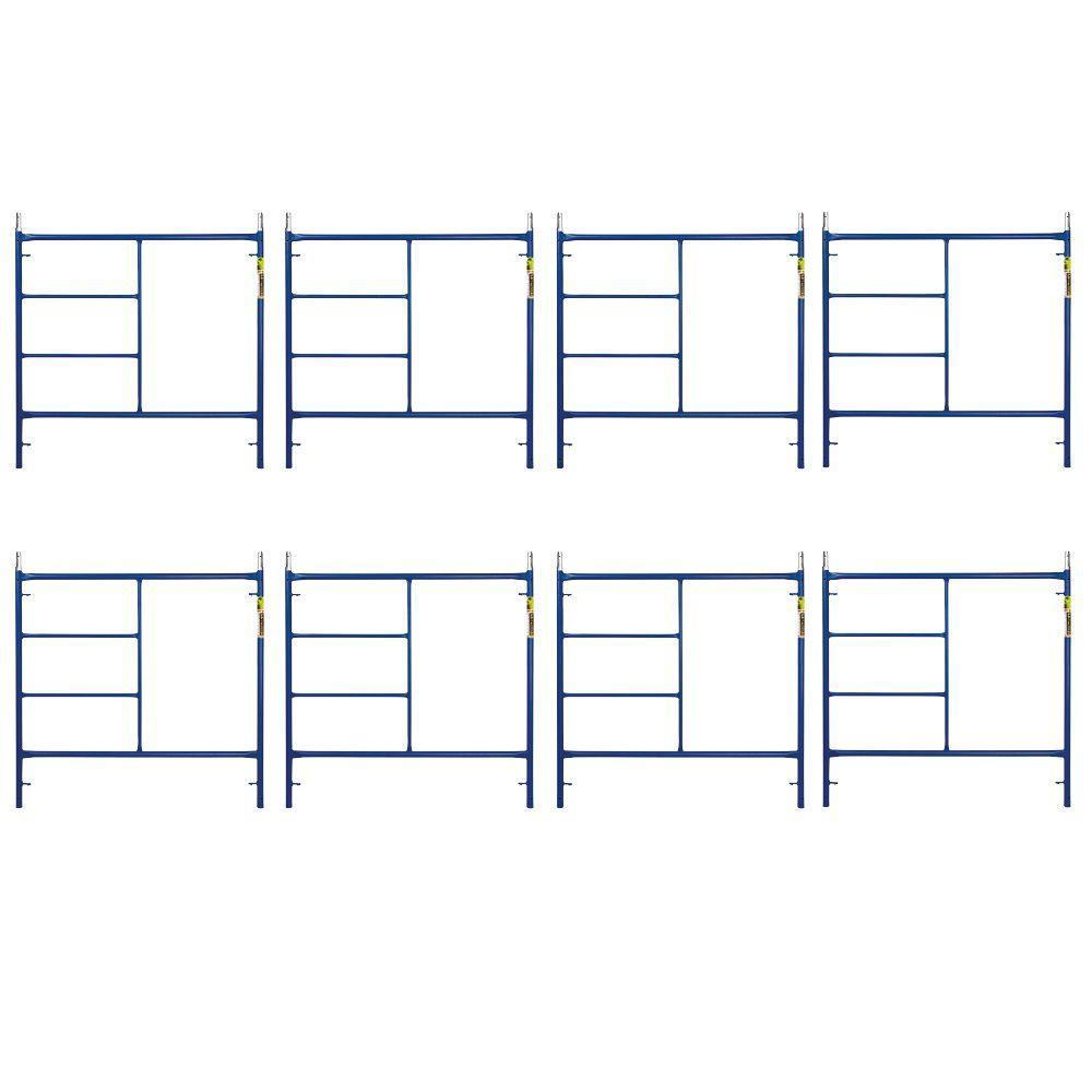 Saferstack 5 ft. x 5 ft. Mason Scaffold Frame (8-Pack)