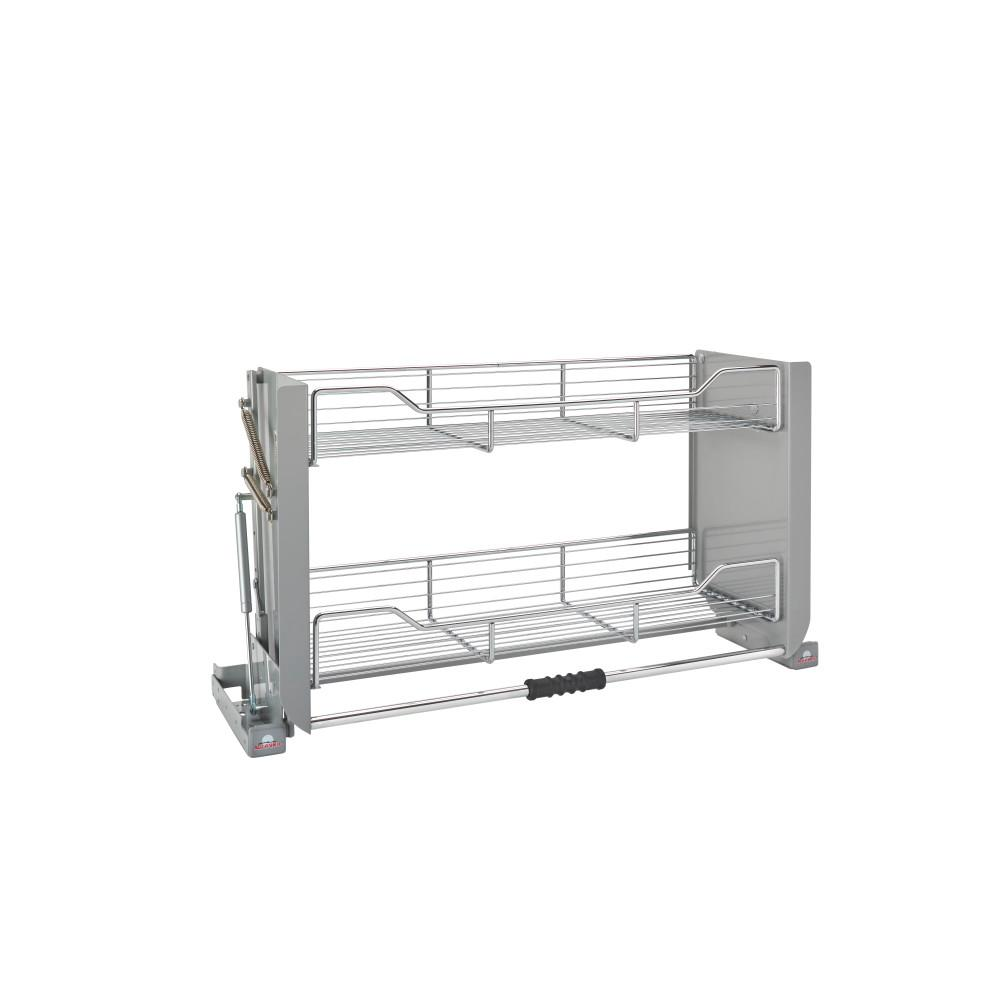 Rev A Shelf Premiere Pull Down Shelving System For: Rev-A-Shelf 18.87 In. H X 34.25 In. W X 10.25 In. D Large