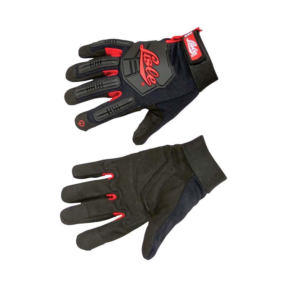 Medium Black Impact Mechanic's Gloves