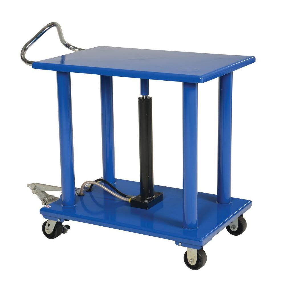 Vestil 24 in. x 36 in. 3,000 lb. Hydraulic Post Table