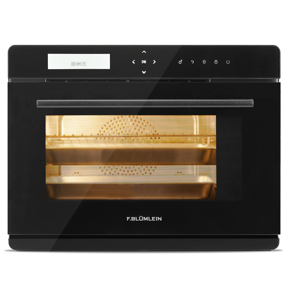 34 Qt Countertop Steam Convection Oven, 10 Modes with 24 Item Preset Menu and 10 DIY Recipe Slots