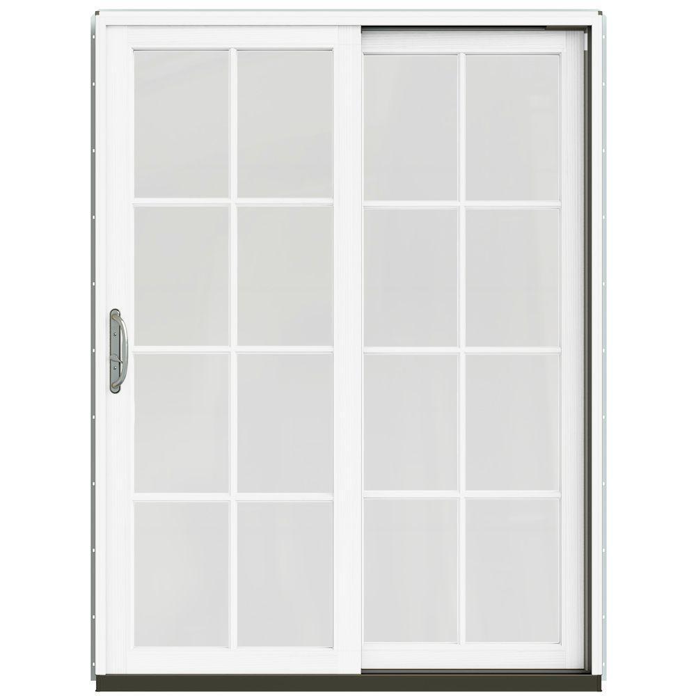 Jeld wen 60 in x 80 in w 2500 contemporary silver clad for 14 x 80 interior door