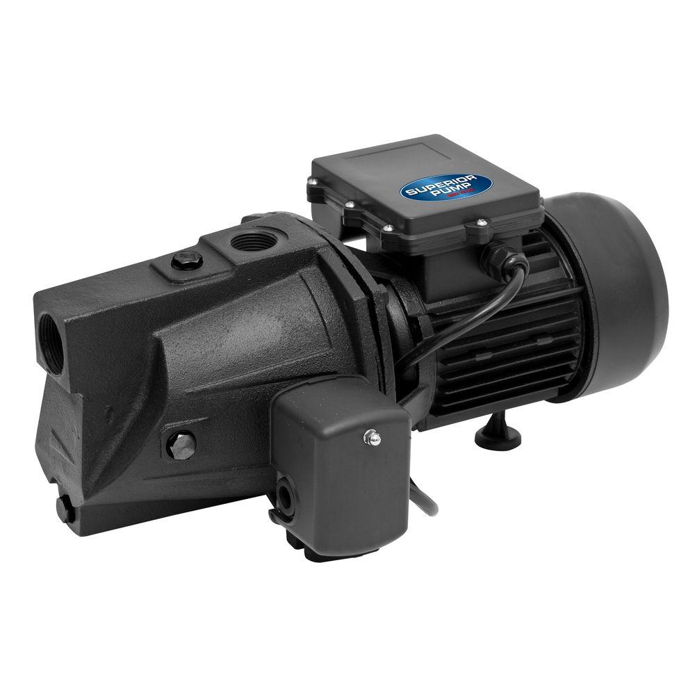 SuperiorPump Superior Pump 1/2 HP Shallow Well Jet Pump