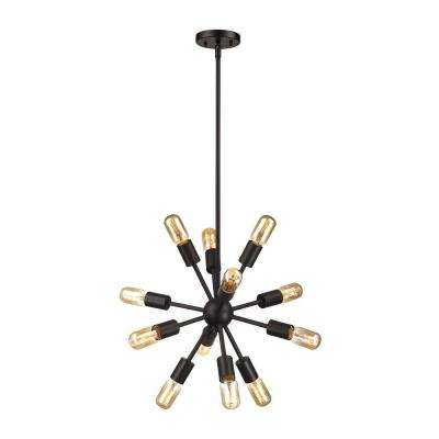 Delphine 12-Light Oil-Rubbed Bronze Chandelier
