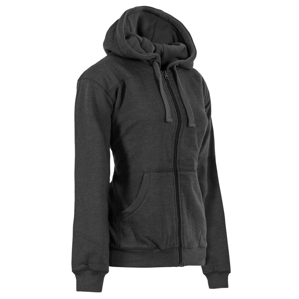 c7182bed6fdf Berne Women's Medium Clay Heather Cotton and Polyester Fleece Lined  Sweatshirt