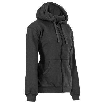 Women's Large Clay Heather Cotton and Polyester Fleece Lined Sweatshirt
