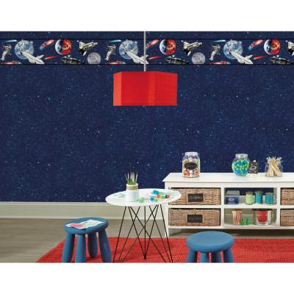 56 sq. ft. Young at Heart Andromeda Wallpaper