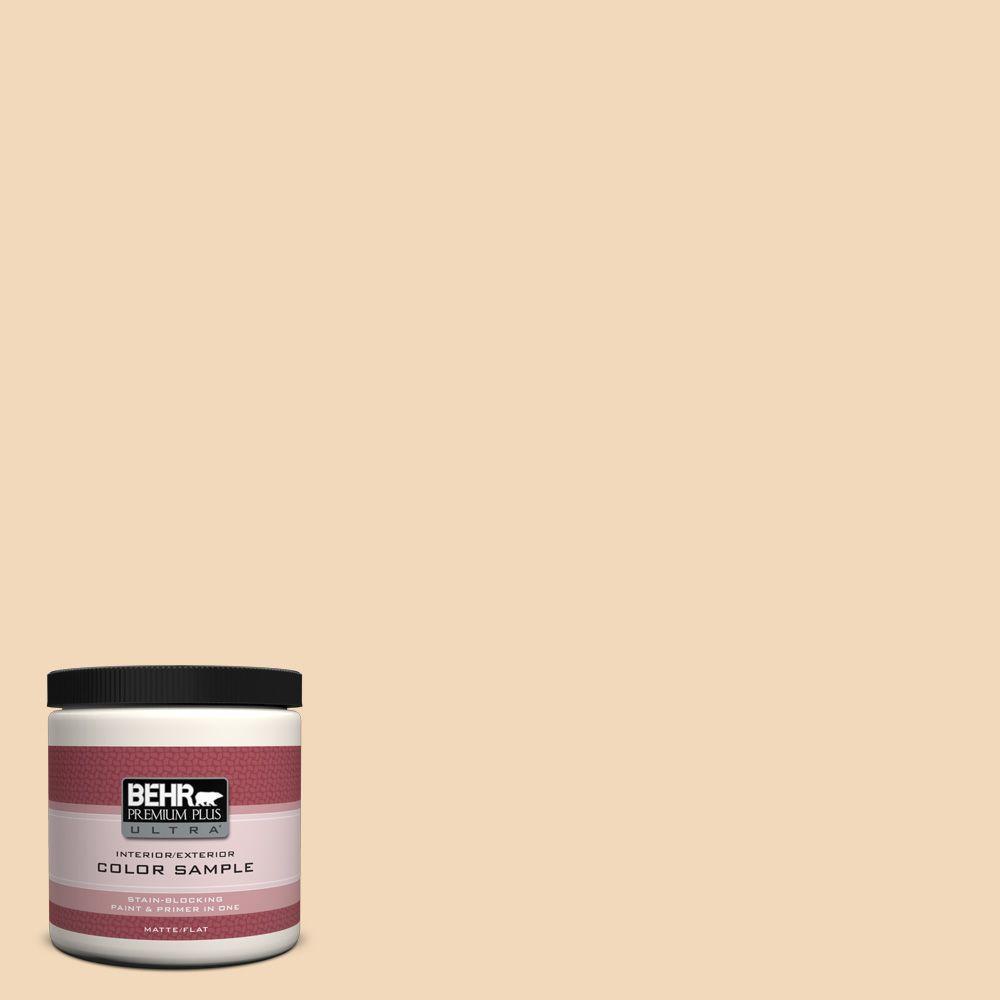 8 oz. #M250-2 Golden Pastel Interior/Exterior Paint Sample