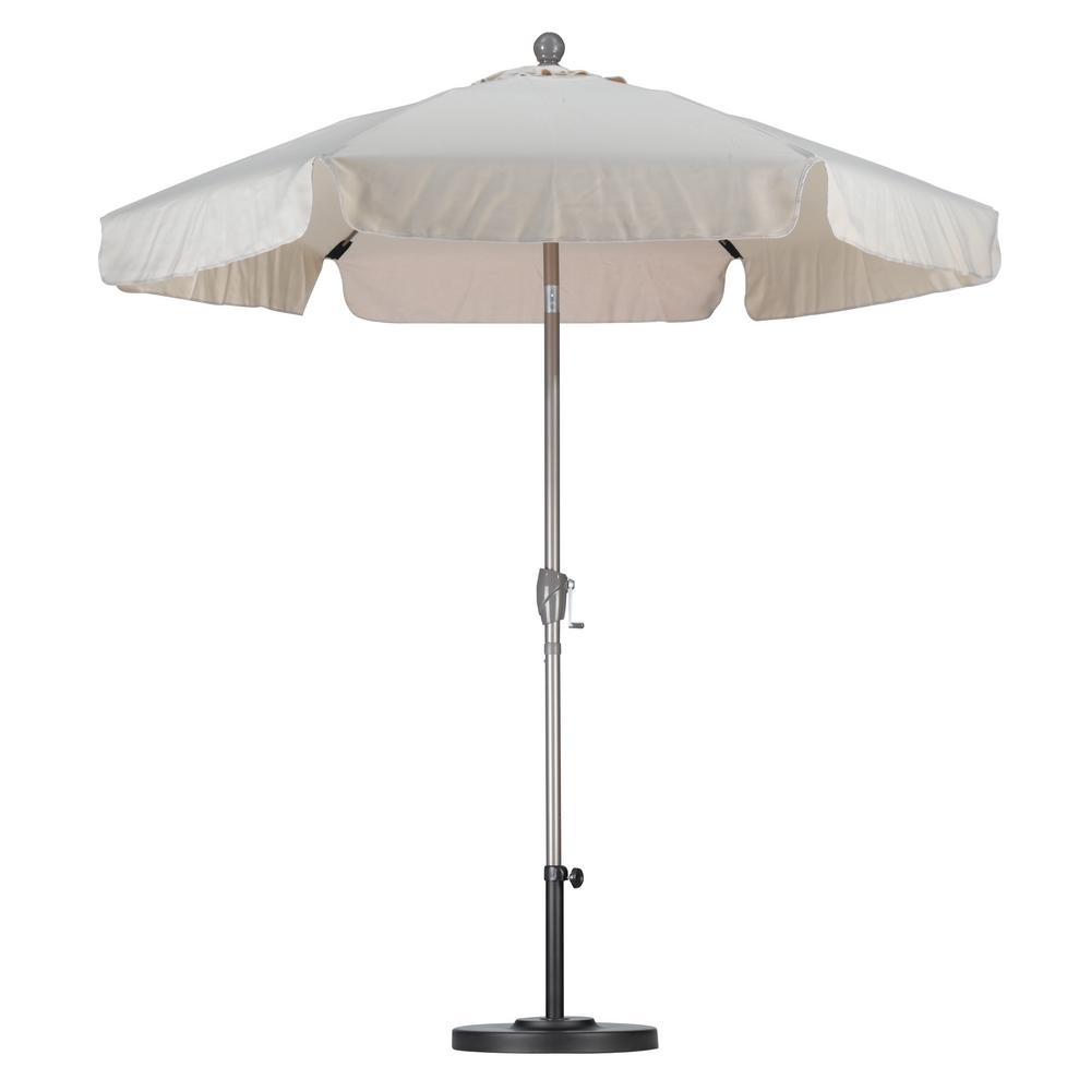 California Umbrella 7 1 2 Ft Fiberglass Push Tilt Patio