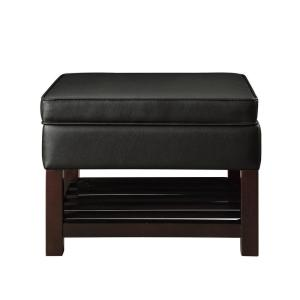 Peachy Acme Furniture Keiko Dark Brown Cocktail Ottoman With Ocoug Best Dining Table And Chair Ideas Images Ocougorg