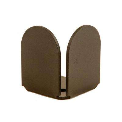 1-3/8 in. x 2-1/4 in. Dome Oil Rubbed Bronze Non-Handed End Floor Stop