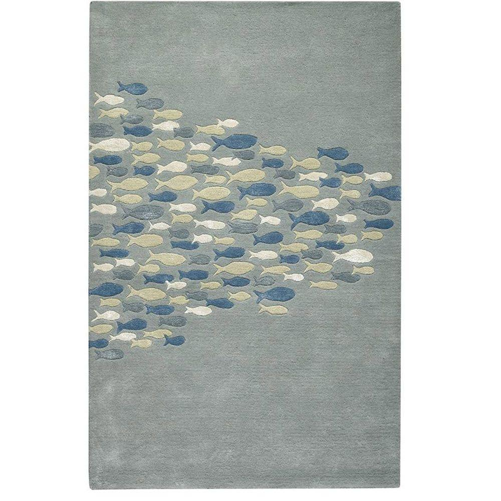 Home decorators collection school pastel blue 5 ft x 8 ft for Home decorators rugs blue