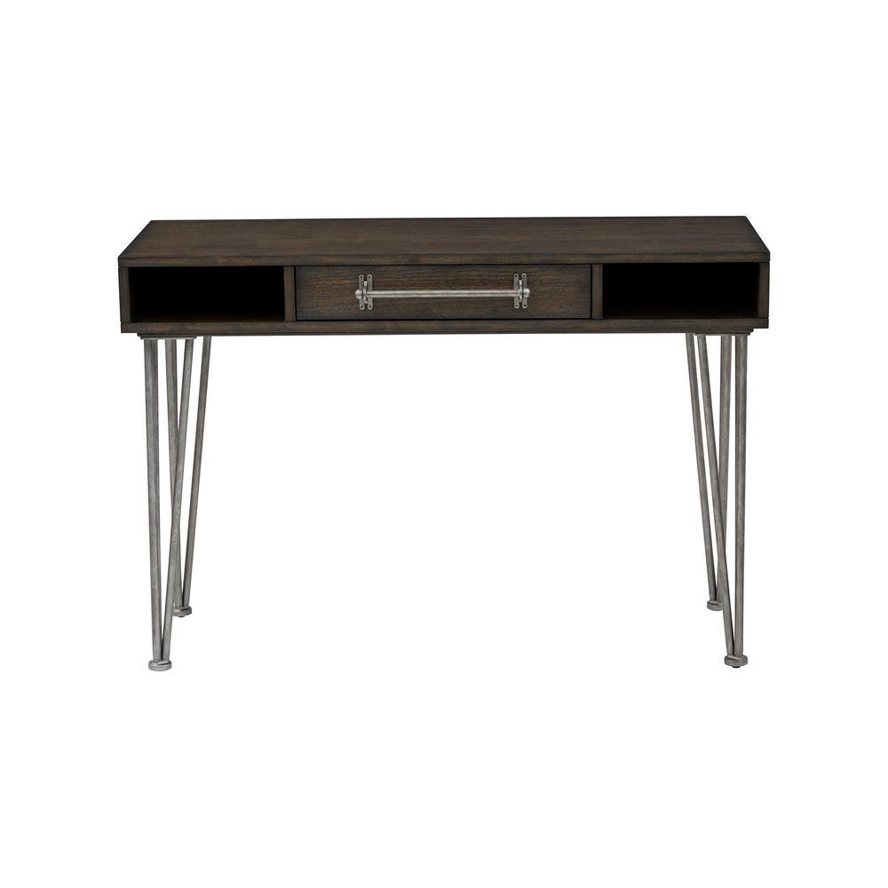 Rustic Industrial Wooden Desk