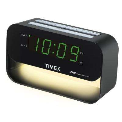 Dual Alarm Clock with USB