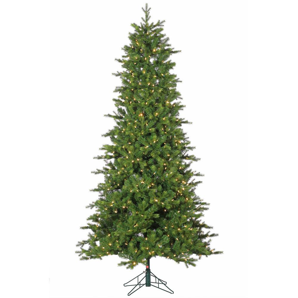 STERLING 7.5 ft. Pre-Lit Dover Artificial Christmas Pine Tree with ...