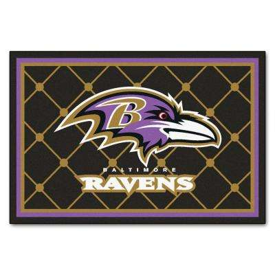 Baltimore Ravens 5 ft. x 8 ft. Area Rug