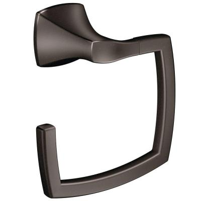 Voss Towel Ring in Oil Rubbed Bronze
