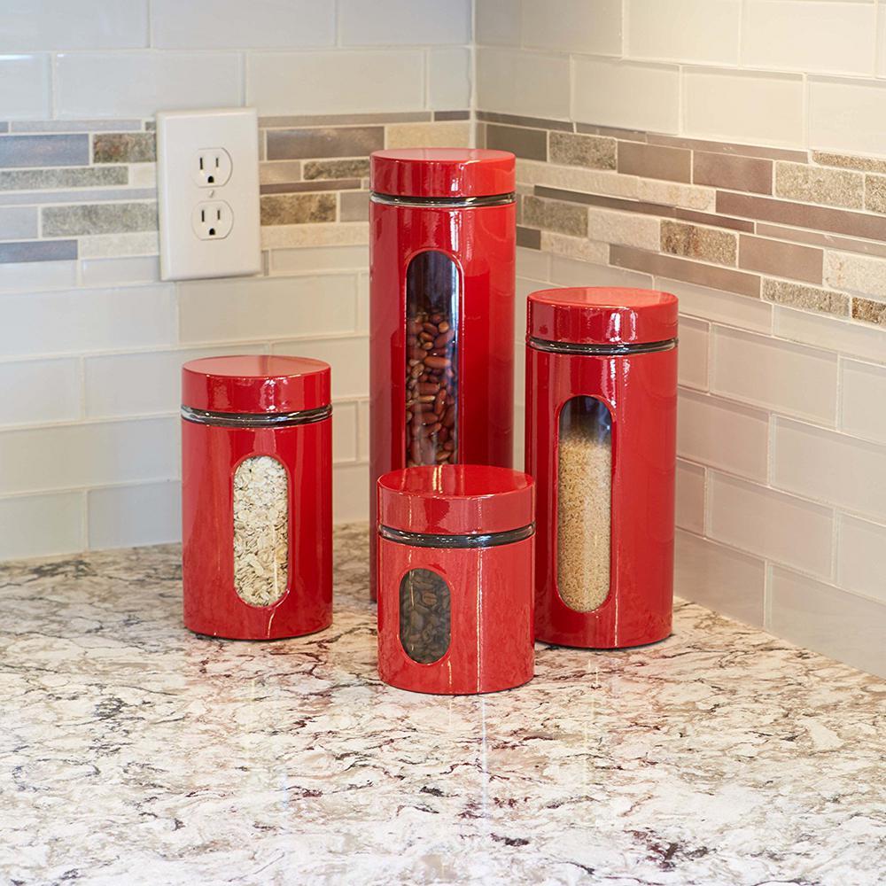 4-Piece Palladian Jars