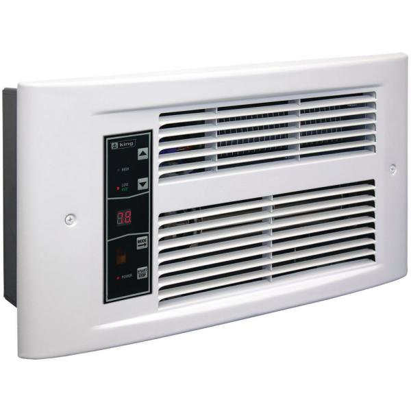 PX Eco 120-Volt, 1500-Watt, Electric Wall Heater in White Dove