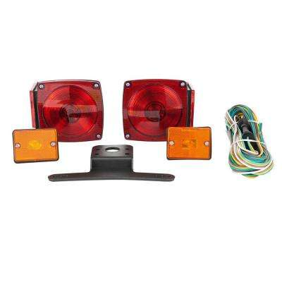 80 in. Under Standard Trailer Light Kit with Side Marker Lights