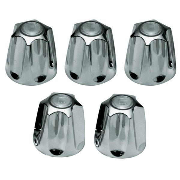 5-Piece Handle Kit in Chrome for Price Pfister Verve Tub/Shower Faucets