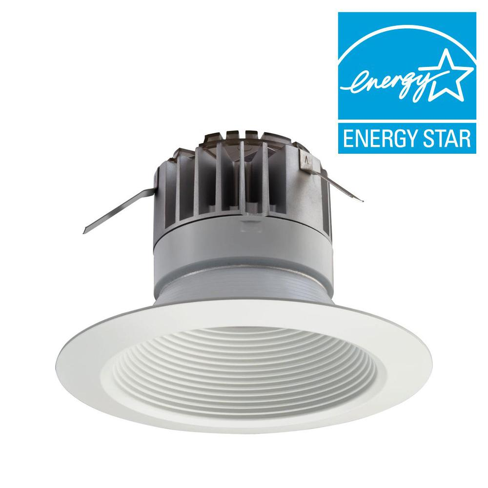 5 in. Matte White LED Recessed Downlighting Module