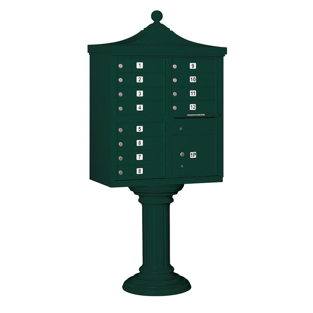 3300R Series Green Private 12A Size Doors Type II Regency Decorative