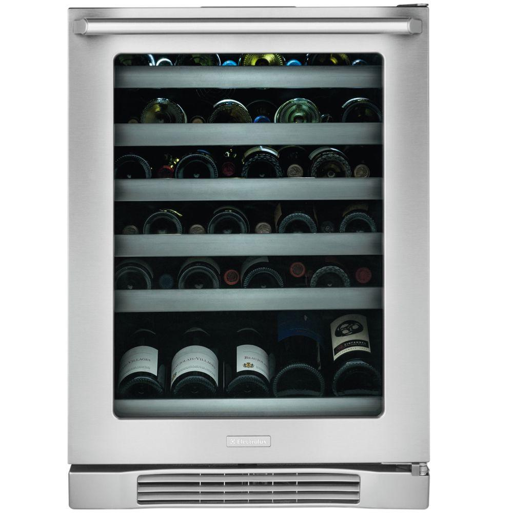 Electrolux IQ-Touch 24 in. 46-Bottle Wine Cooler and 90 (12 oz.) Can Cooler