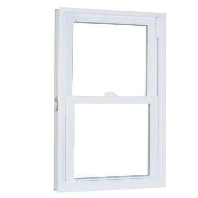 27.75 in. x 69.25 in. 70 Series Double Hung Buck PRO Vinyl Window - White