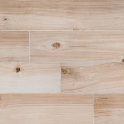 Lanikai Driftwood 8 in. x 36 in. Matte Floor and Wall Porcelain Tile (14 sq. ft./Case)