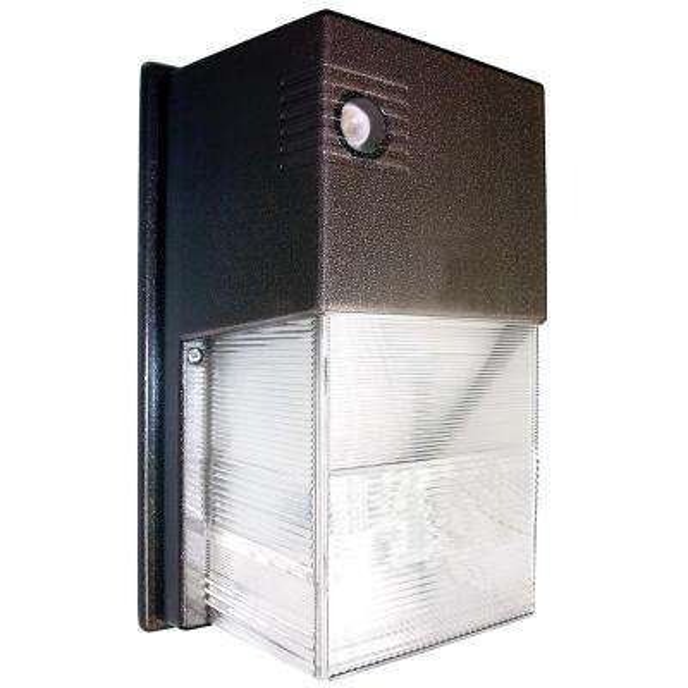13-Watt Bronze Integrated LED Mini Wall Pack Light