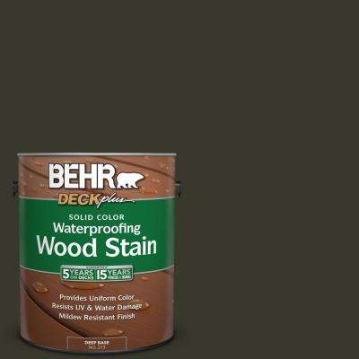 1 gal. #SC-108 Forest Solid Color Waterproofing Wood Stain