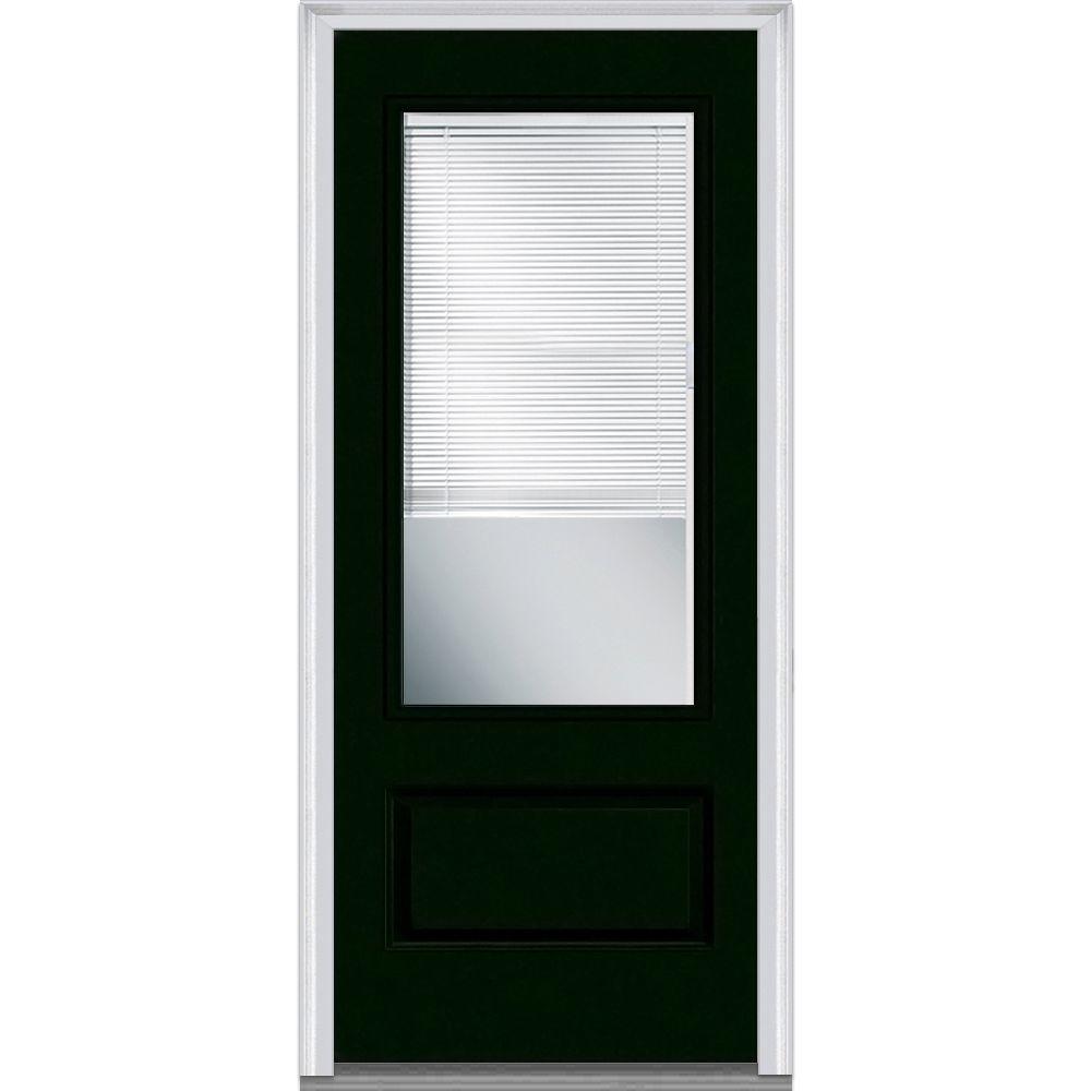 Blinds For Glass Front Doors: MMI Door 36 In. X 80 In. Internal Blinds Clear Left-Hand 3